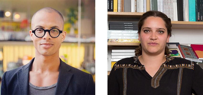 Left: Josh Rivers; Right: Sophie da Gama Campos
