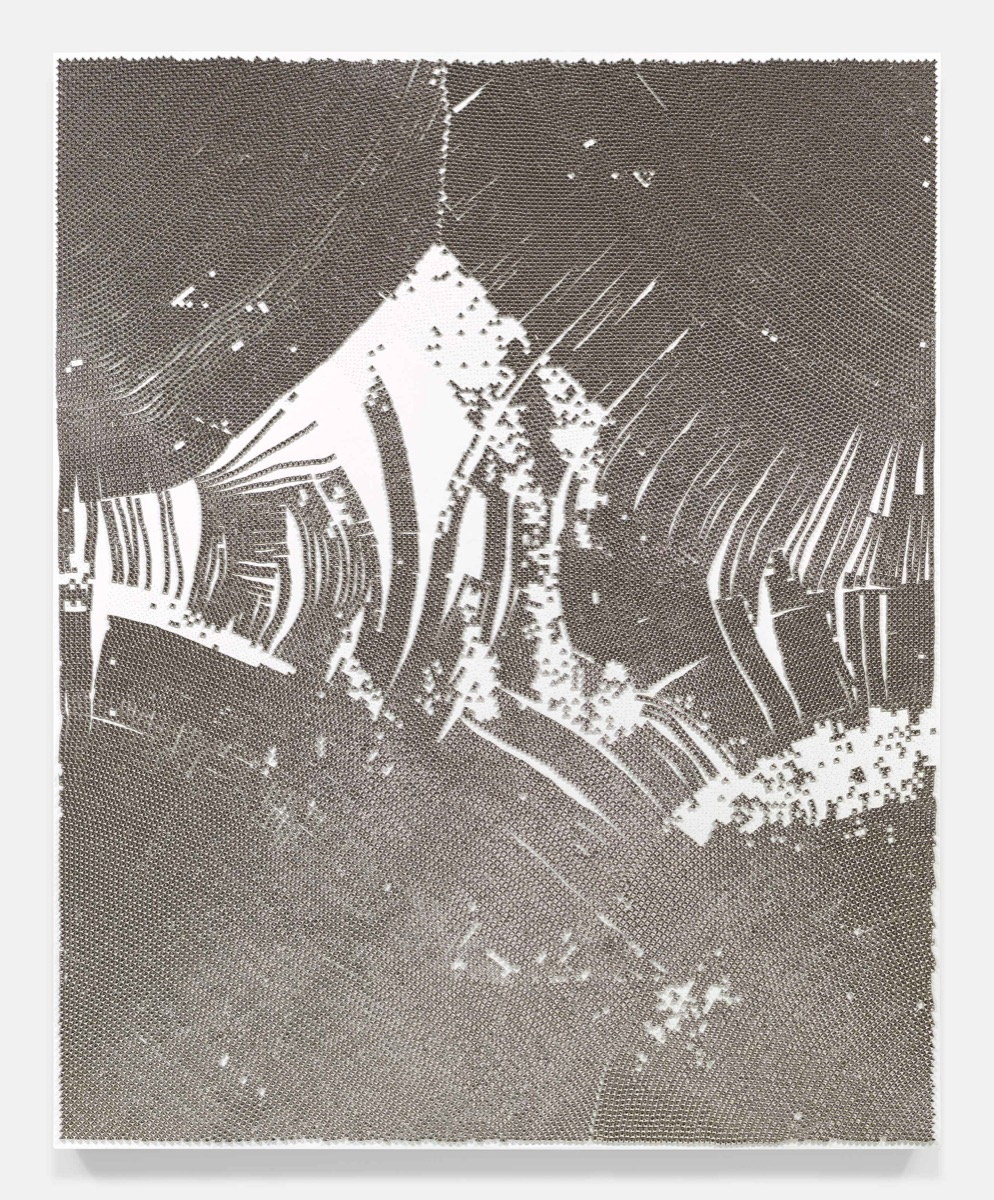 Dan Colen, The Underground Rises Again, 2015. Courtesy of Lévy Gorvy. © Dan Colen, 2017.