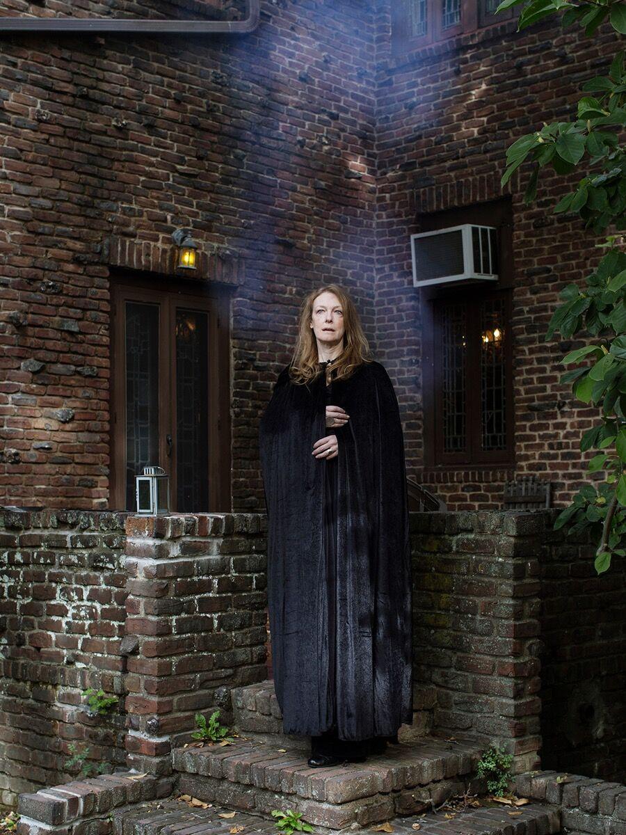 "Frances F. Denny, Deborah (Nyack, NY), from the series ""Major Arcana: Witches in America."" Courtesy of ClampArt, New York City."