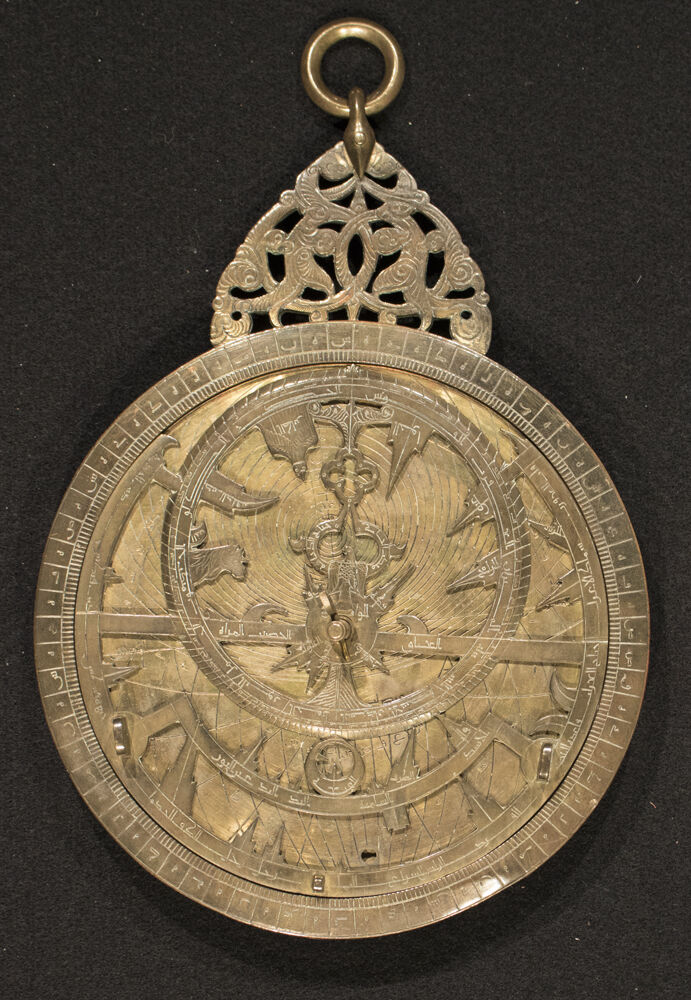 Muhammad b. Abi Bakr, Astrolabe, 13th century. Courtesy of New York Historical Society Museum & Library.