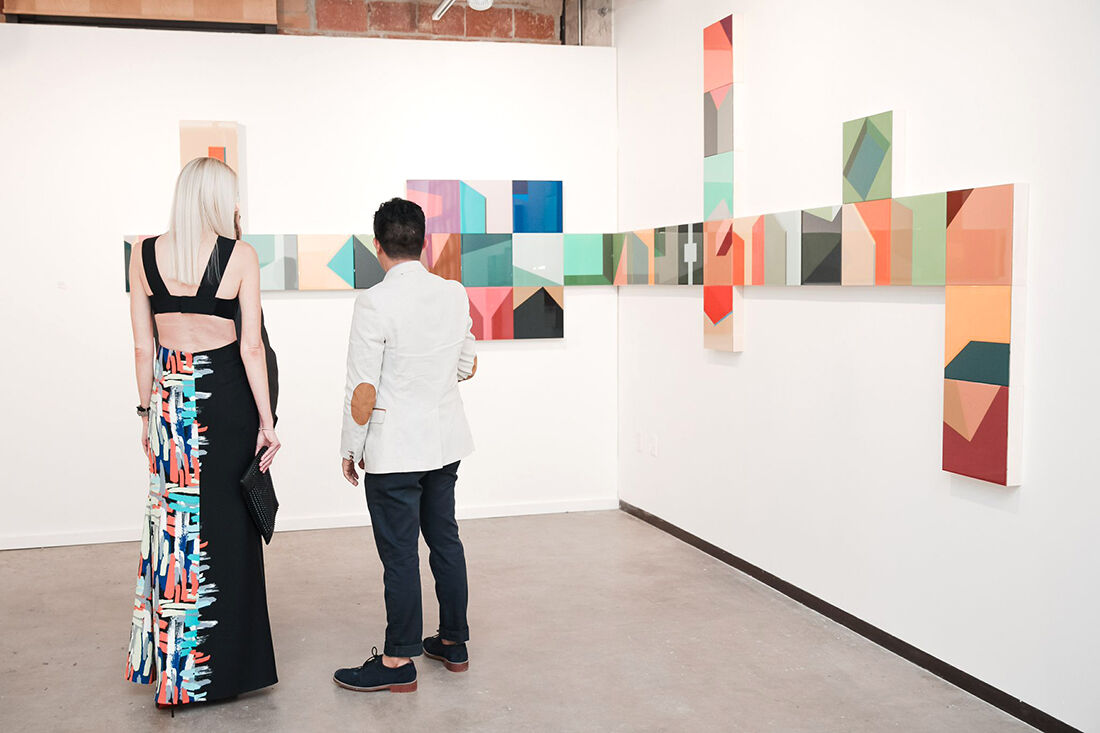 Dallas Art Fair 2015. Photo: BFA, Courtesy Dallas Art Fair.
