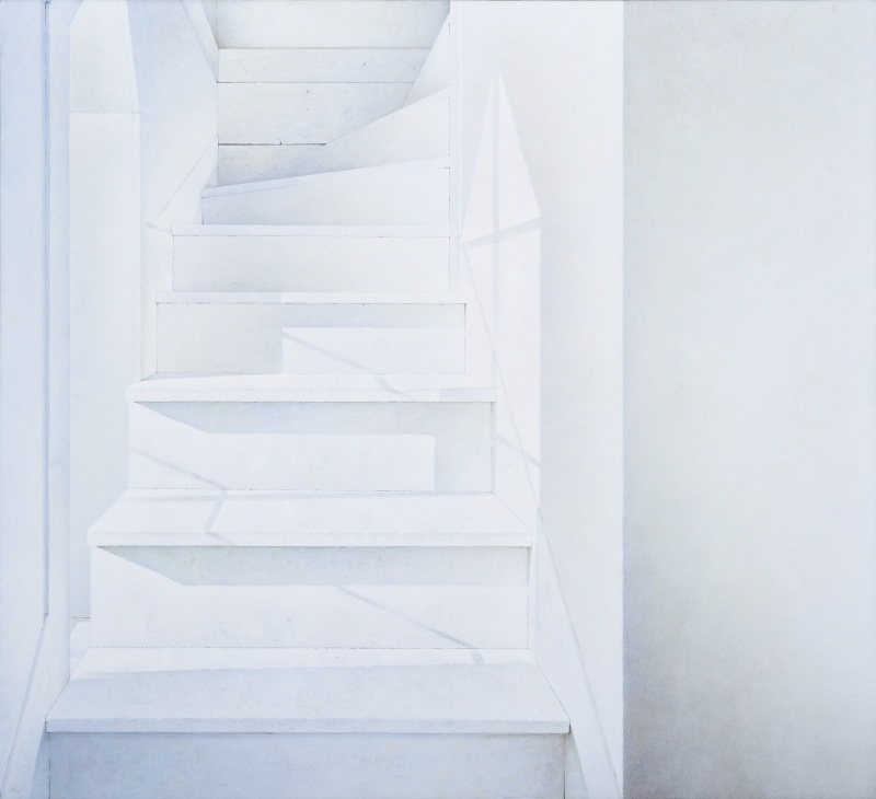 'Tower Stairs'by John Ballantyne. Courtesy of Odon Wagner Contemporary.