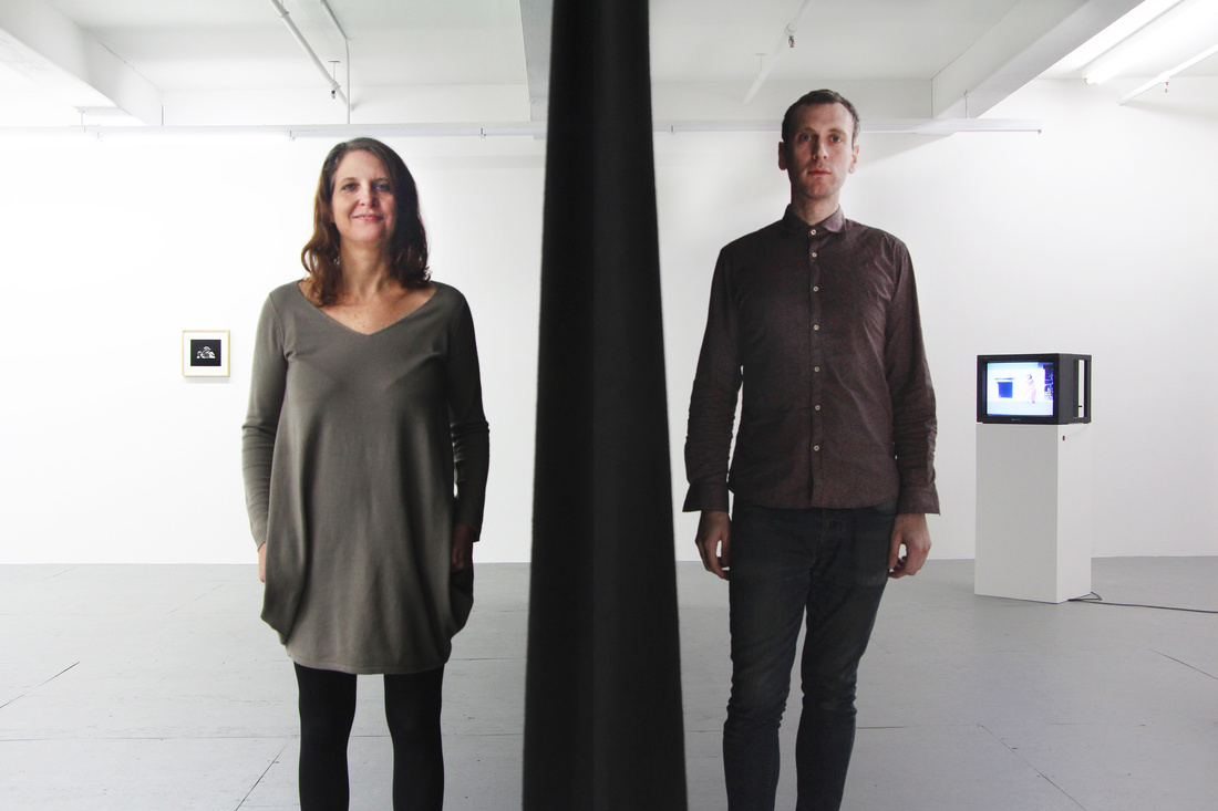 Elle Burchill and Andrea Monti at Microscope Gallery. Courtesy Microscope Gallery.