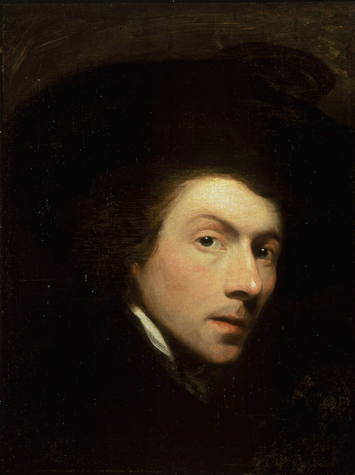 Gilbert Stuart, Self-portrait, 1778. Image via Wikimedia Commons.