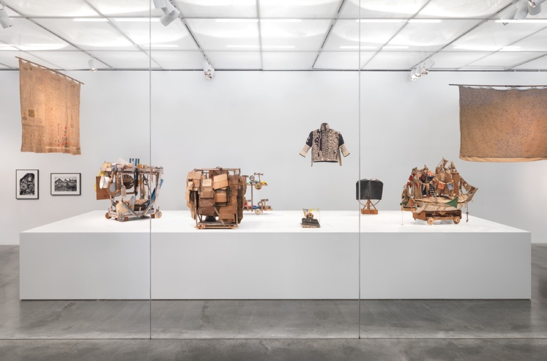 """Installation view of """"The Keeper,"""" 2016. Photo by Maris Hutchinson / EPW Studio. Photo courtesy of the New Museum."""