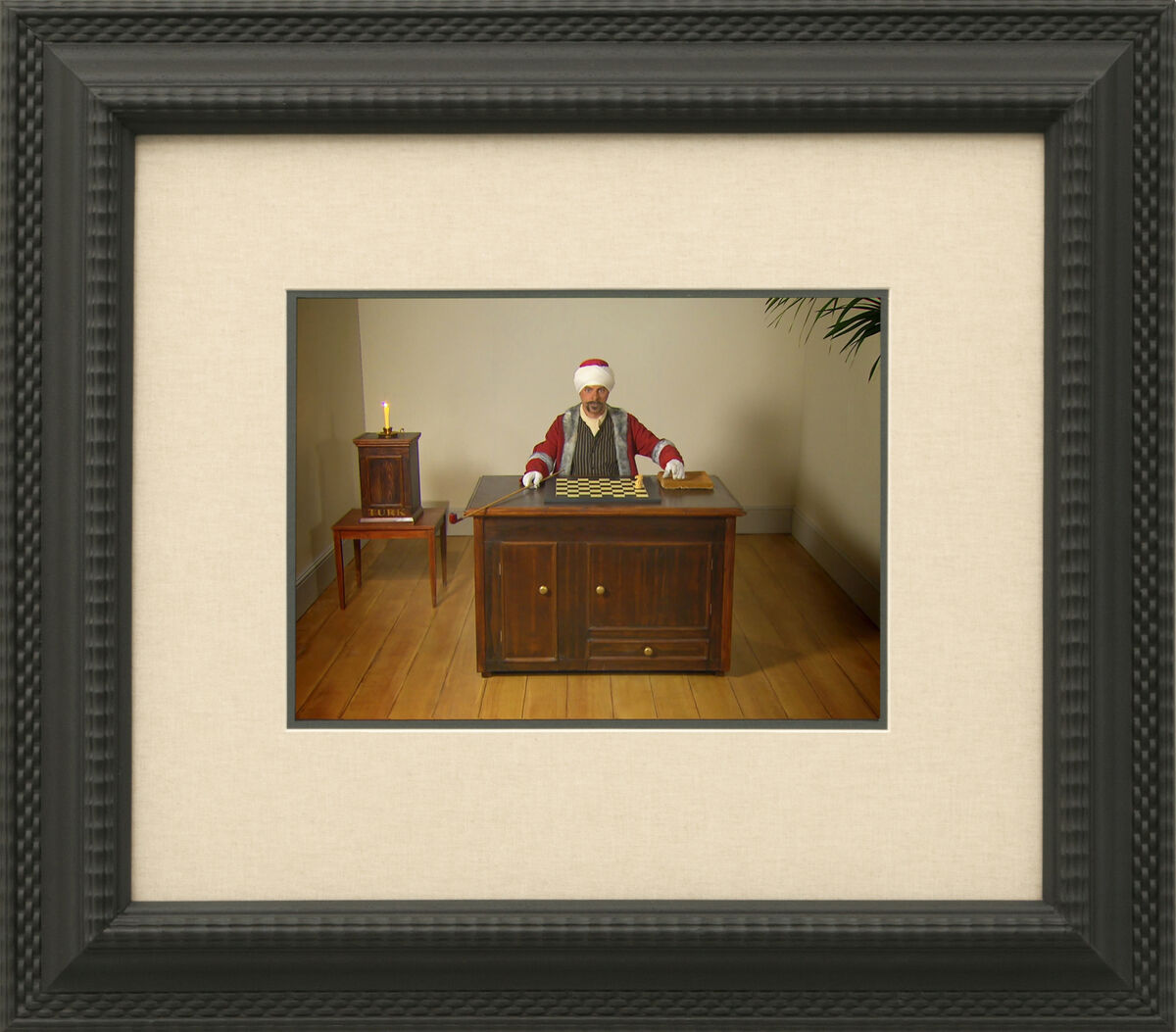 Gavin Turk, The Mechanical Turk, 2006. © Gavin Turk. Image courtesy of the Freud Museum London.