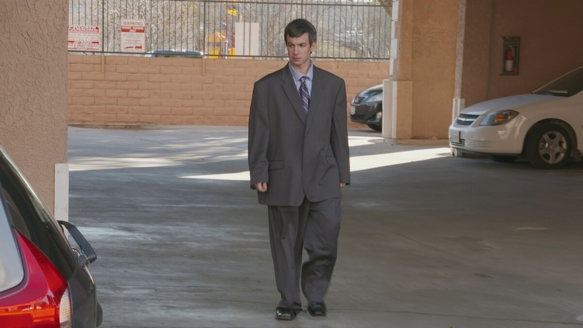 "Nathan Fielder , Season 4, ""The Anecdote,"" October 19, 2017. Courtesy of Comedy Central."