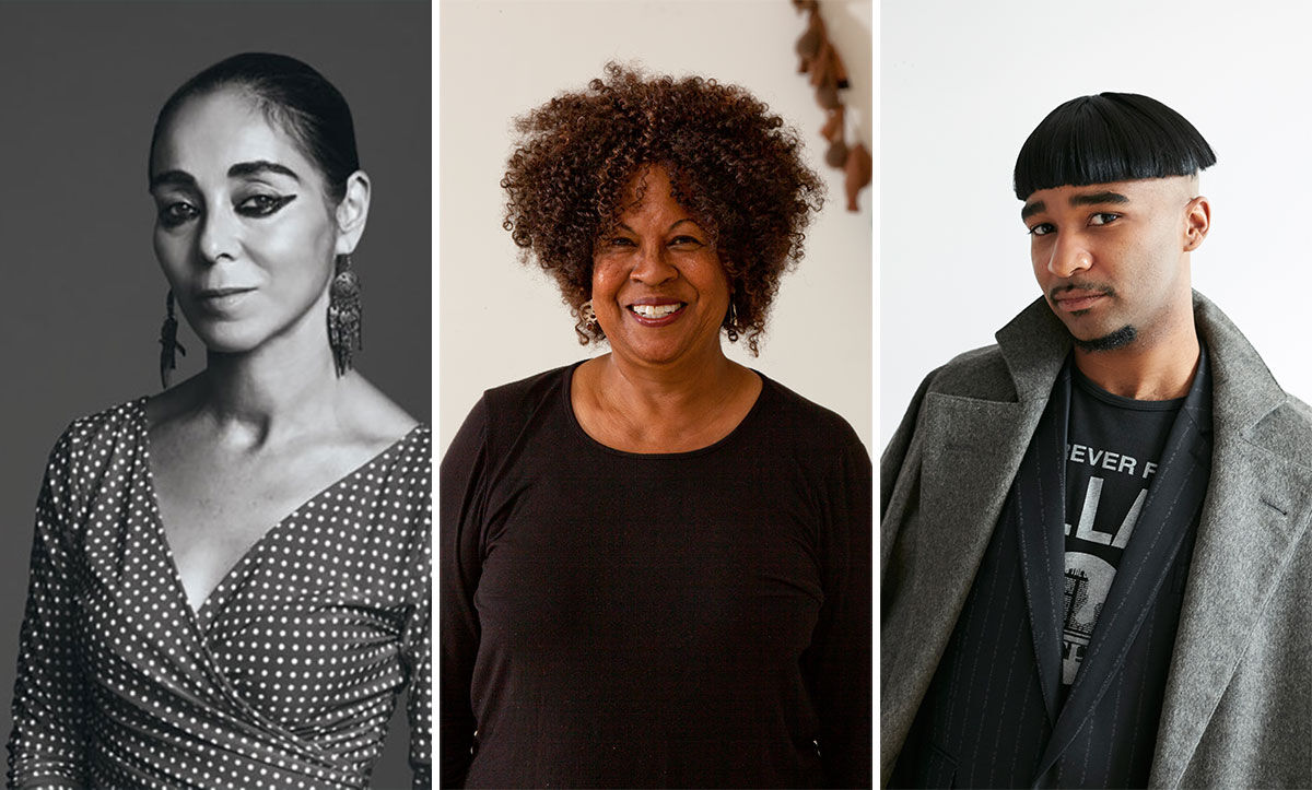 Portraits of Shirin Neshat and Senga Nengudi courtesy of United States Artists. Portrait of Jacolby Satterwhite by Emily Johnston for Artsy.