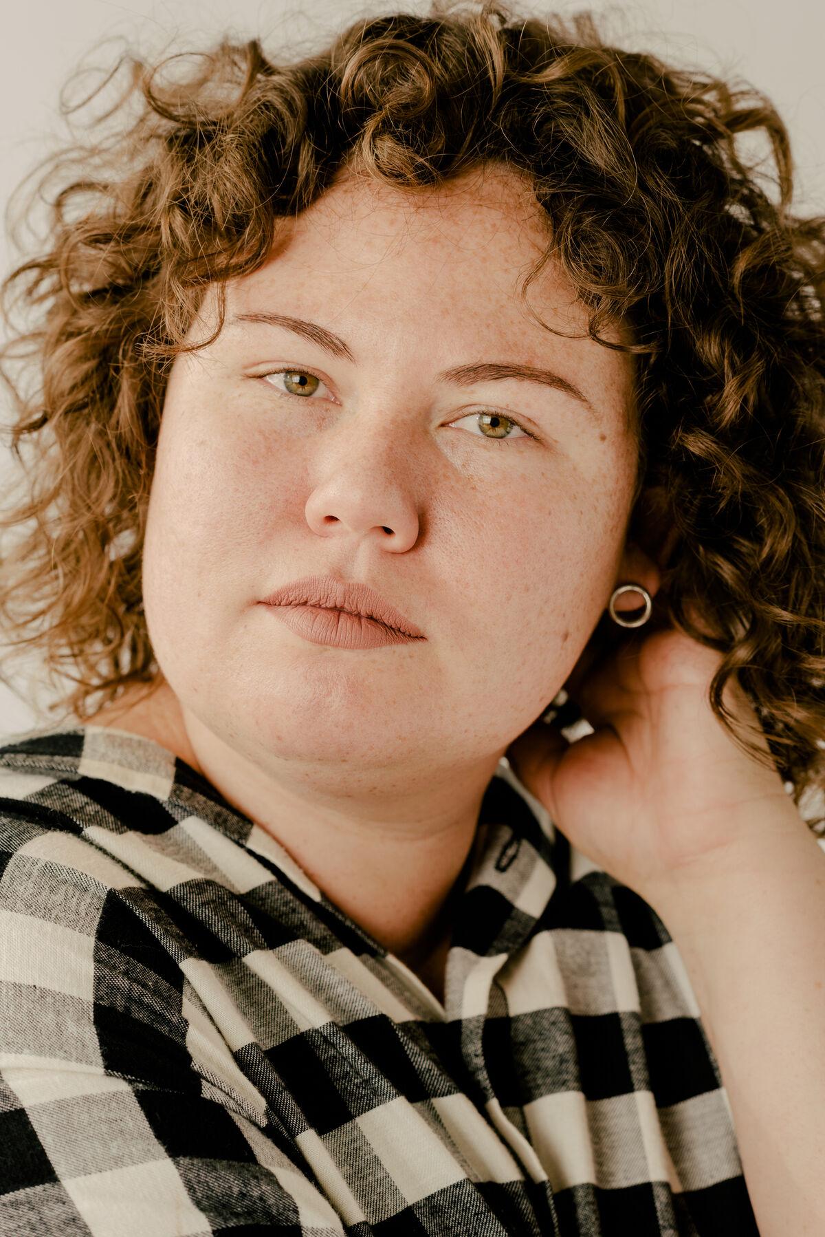 Christina Quarles by Daniel Dorsa for Artsy.