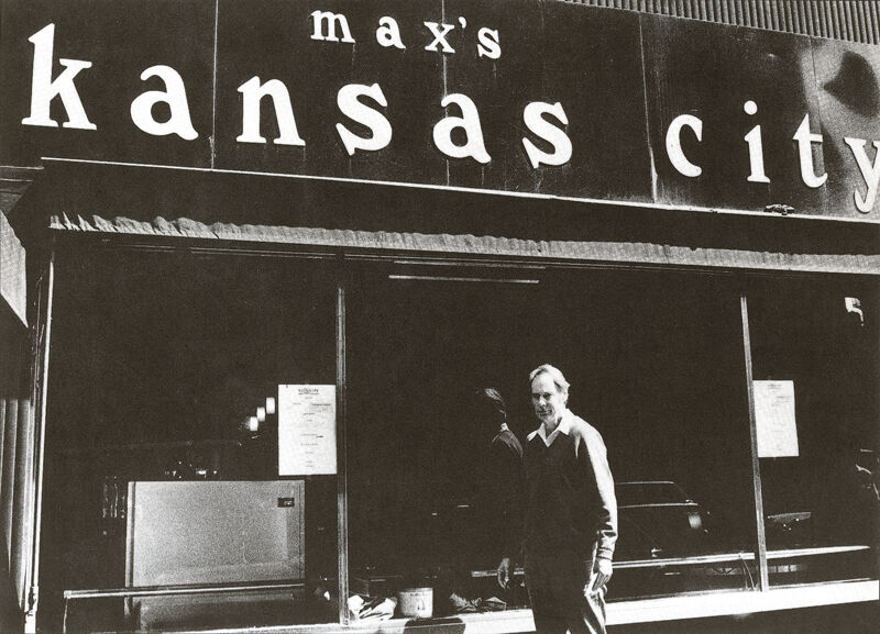 Ronald Bladen, Max's Kansas City, 213 Park Avenue South, c. 1972, Courtesy of the Ronald Bladen Estate and Loretta Howard Gallery, NY.