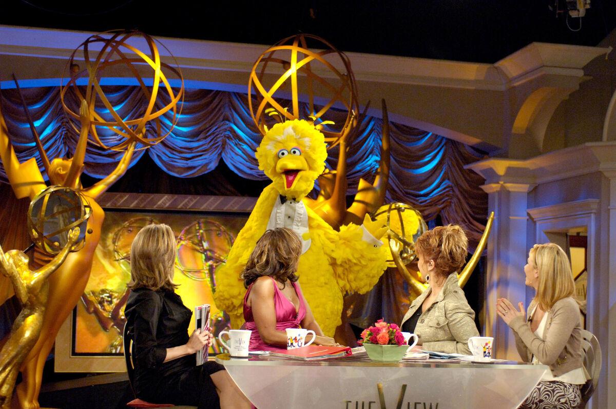 Caroll Spinney, as Big Bird. Photo by Marc Bryan-Brown/WireImage.