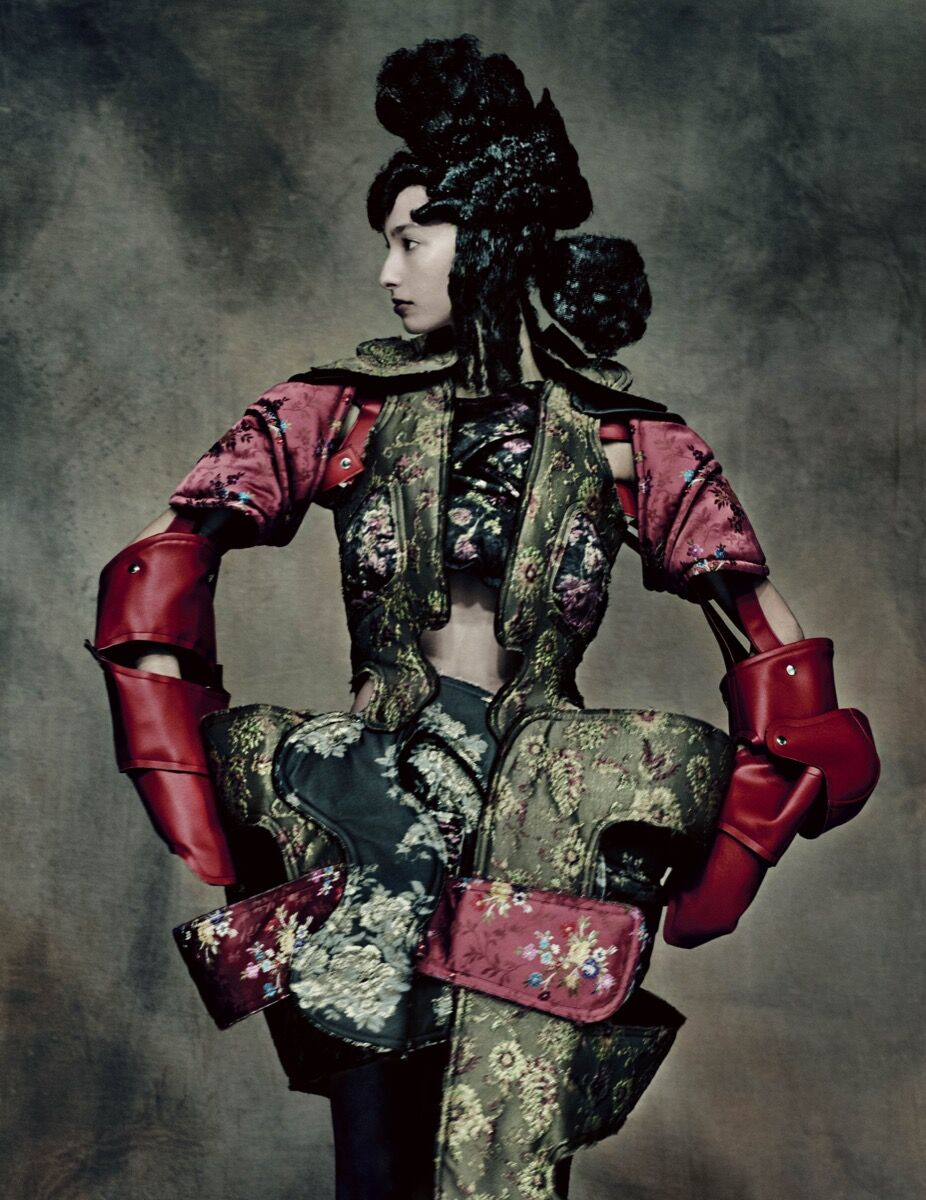 Rei Kawakubo for Comme des Garçons, 18th-Century Punk, autumn/winter 2016-17. Photo by © Paolo Roversi. Courtesy of the Metropolitan Museum of Art.
