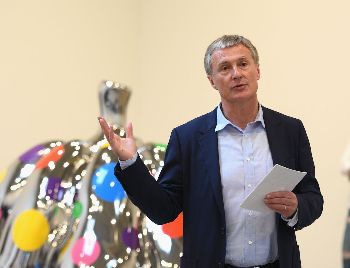 Gallerist David Zwirner. Photo by Andrew Toth/Getty Images.
