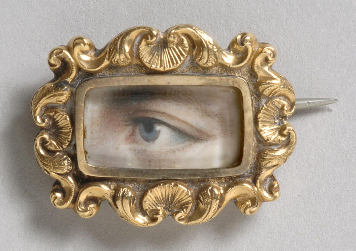 Portrait of a Left Eye. Courtesy of the Philadelphia Museum of Art.