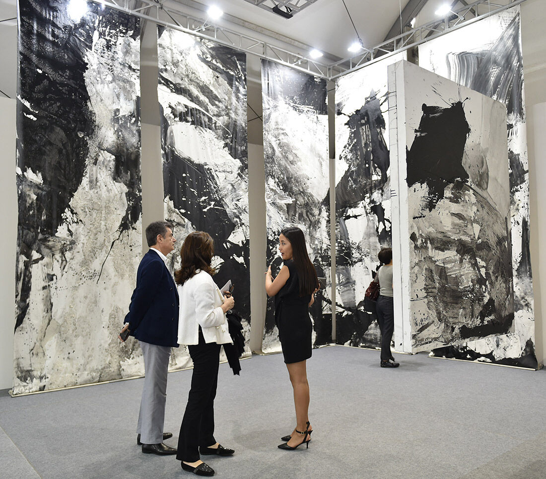 Art Central Hong Kong 2015. Photo: Courtesy Art Central.
