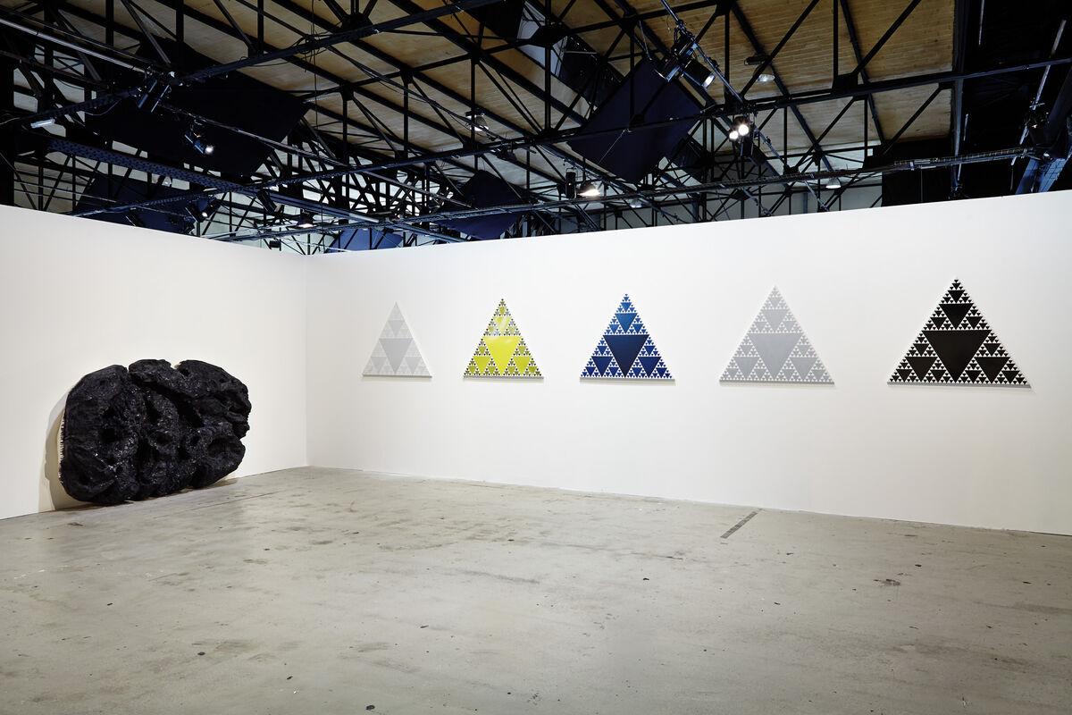 Installation View,ART-O-RAMA 2015. CourtesyART-O-RAMA, Marseille.