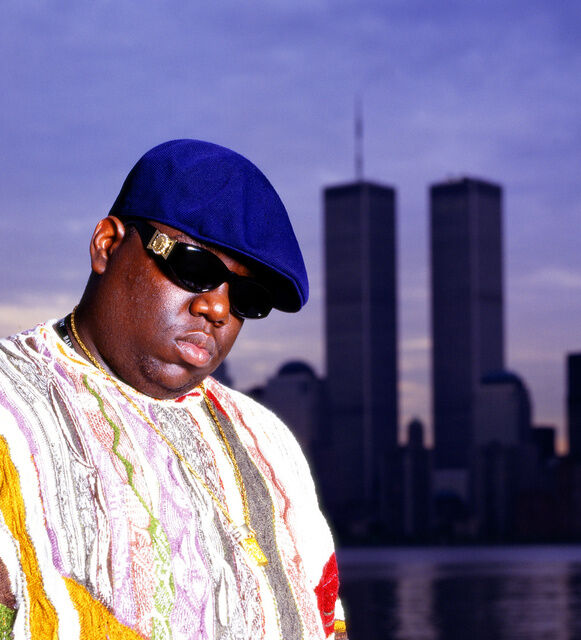 Chi Modu, Biggie WTC, NYC, 1996. Image courtesy of the artist.