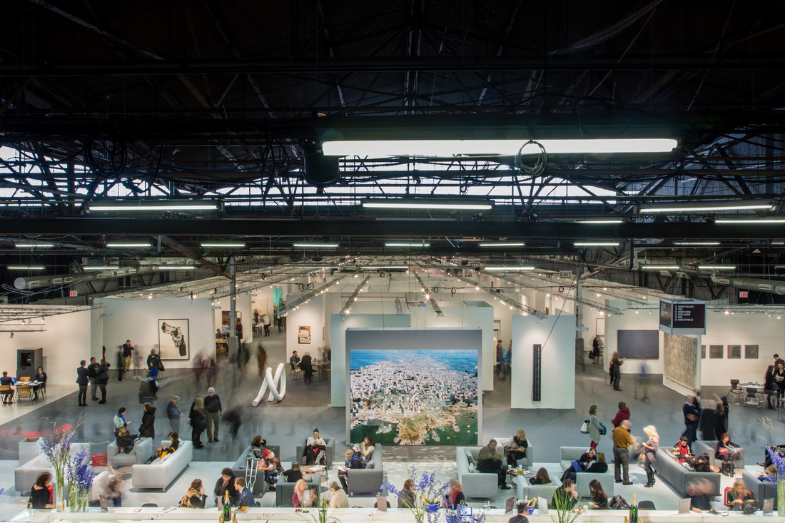 Photo of The Armory Show 2015 by Christophe Tedjasukmana for Artsy.