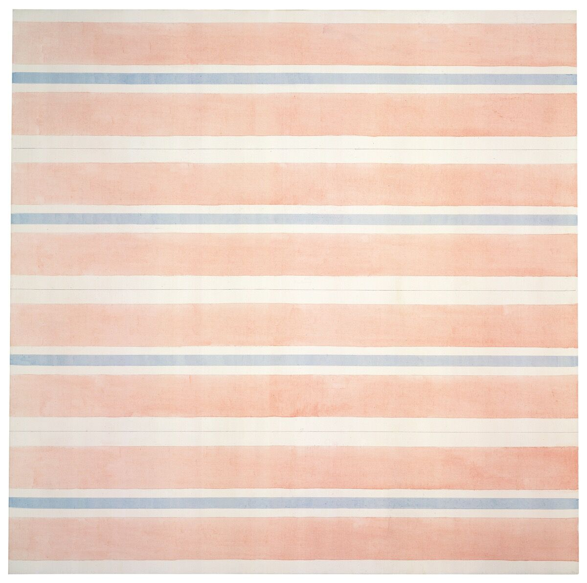 Agnes Martin, Affection, 2001. © 2018 Estate of Agnes Martin / Artists Rights Society (ARS), New York. Courtesy of Pace.