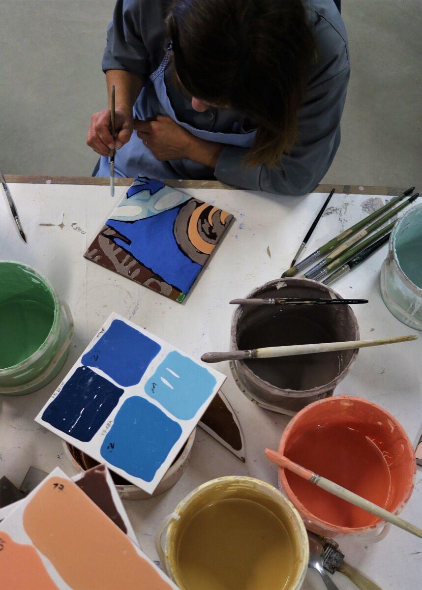 Inside the Viúva Lamego workshop. Photo by Homem Cardoso. Courtesy of Viúva Lamego.