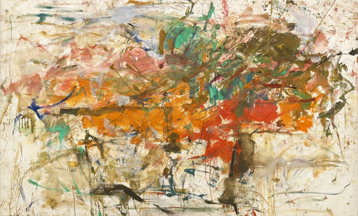Joan Mitchell, Untitled, 1960.© Estate of Joan Mitchell, courtesy of the Joan Mitchell foundation and Cheim & Read, New York.