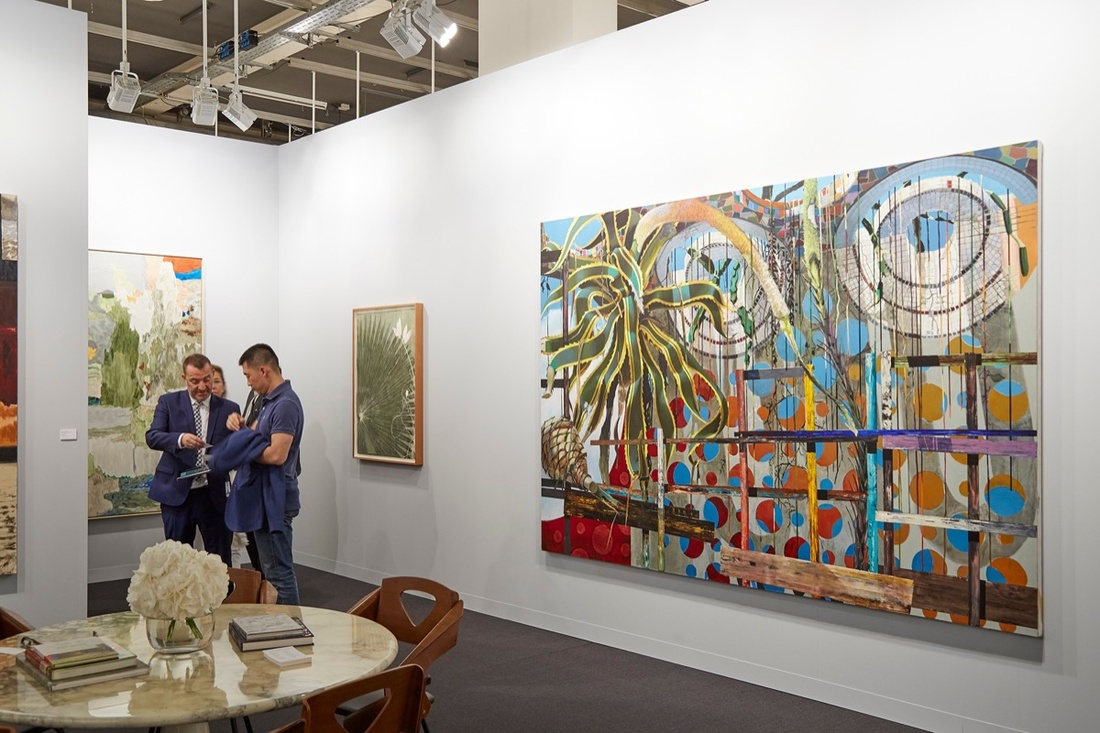 Installation view of at Art Basel, 2017. Photo by Benjamin Westoby for Artsy.