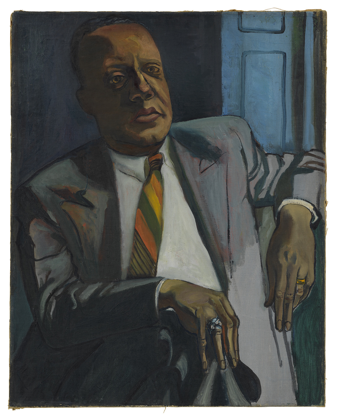 Alice Neel, Horace Cayton, 1949. © The Estate of Alice Neel. Courtesy David Zwirner, New York/London and Victoria Miro, London.