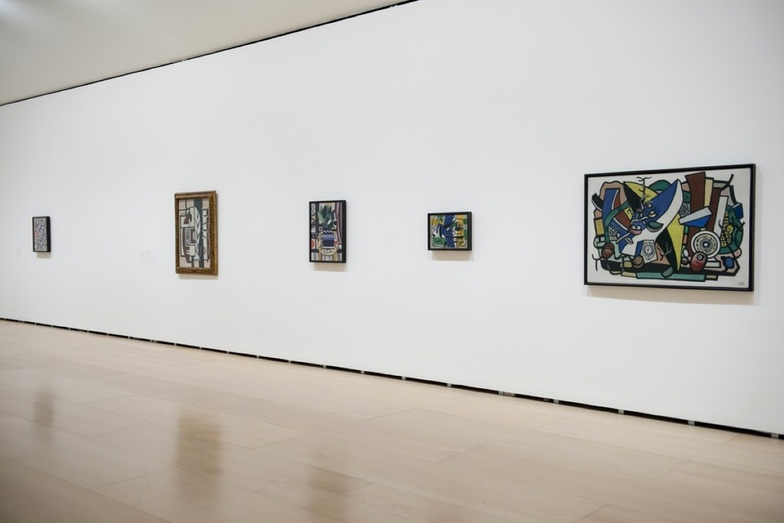 """Installation view of """"The Collection of Hermann and Margrit Rupf"""" at Guggenheim Bilbao, November 11, 2016 - April 23, 2017. Photo courtesy of Guggenheim Bilbao."""