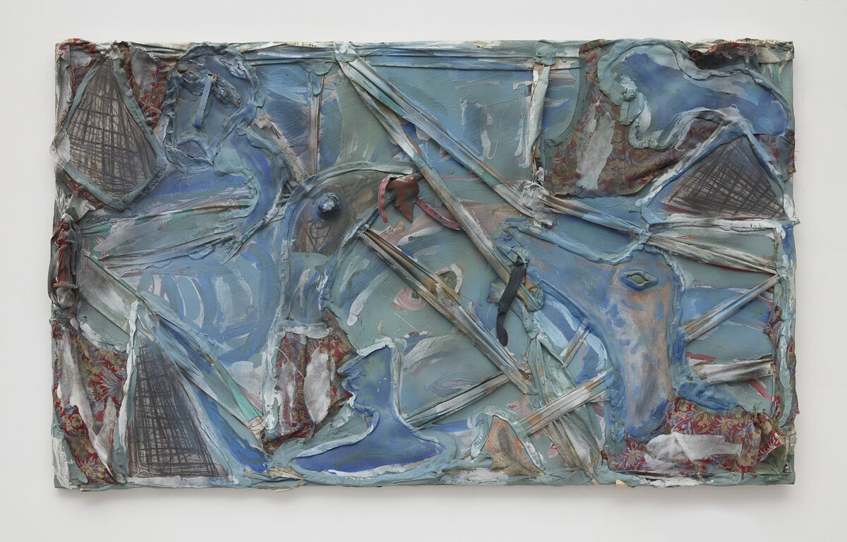 Thornton Dial, The Power of the Birds, 2002. © Thornton Dial. Photo by Jason Wyche, courtesy of Marianne Boesky Gallery, New York.