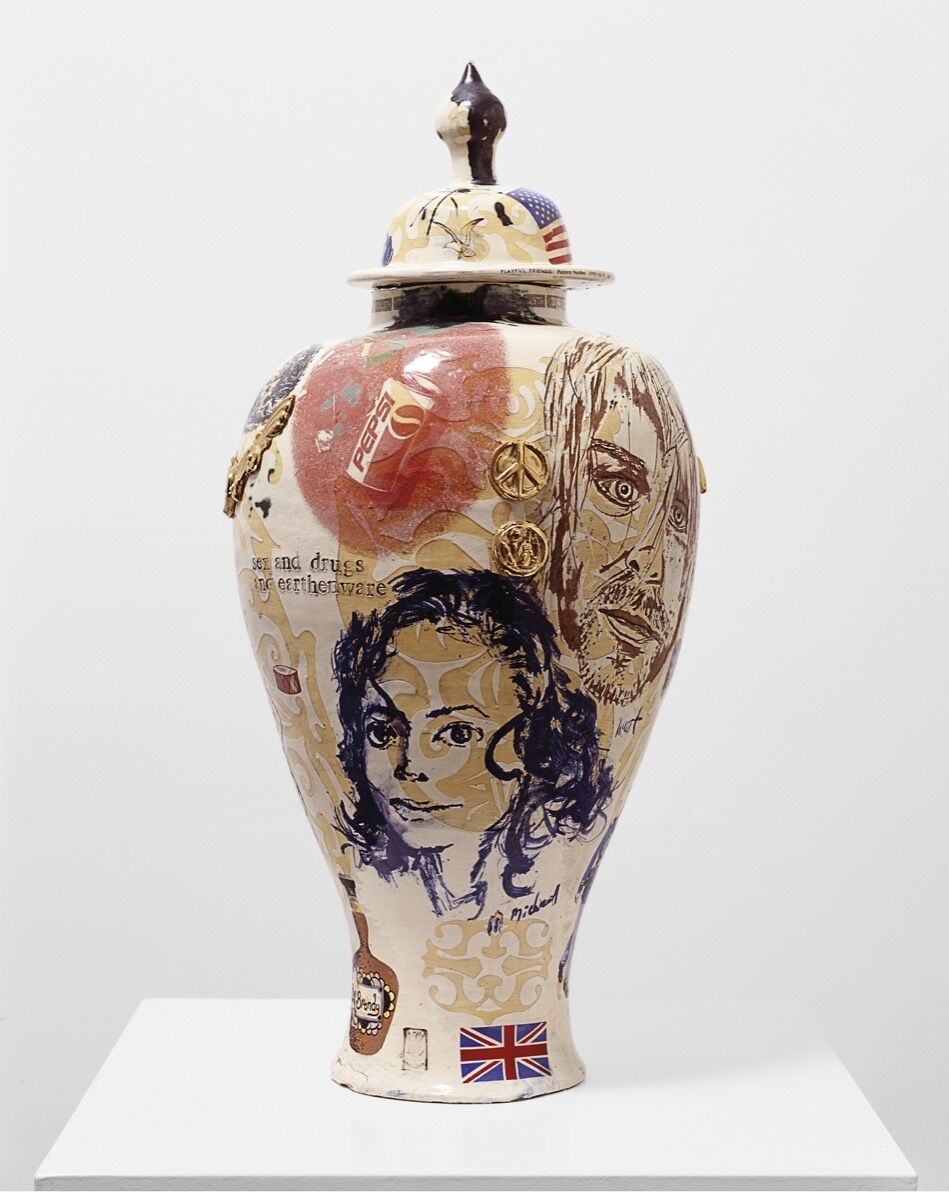 Grayson Perry, Sex and Drugs and Earthenware, 1995. © Grayson Perry. Courtesy of the artist and Victoria Miro, London.