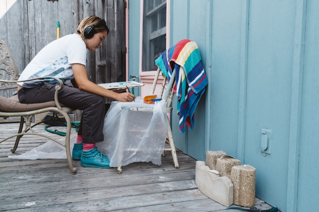 Photo by Gregor Haufbauer Photography. Courtesy of Fire Island Artist Residency.