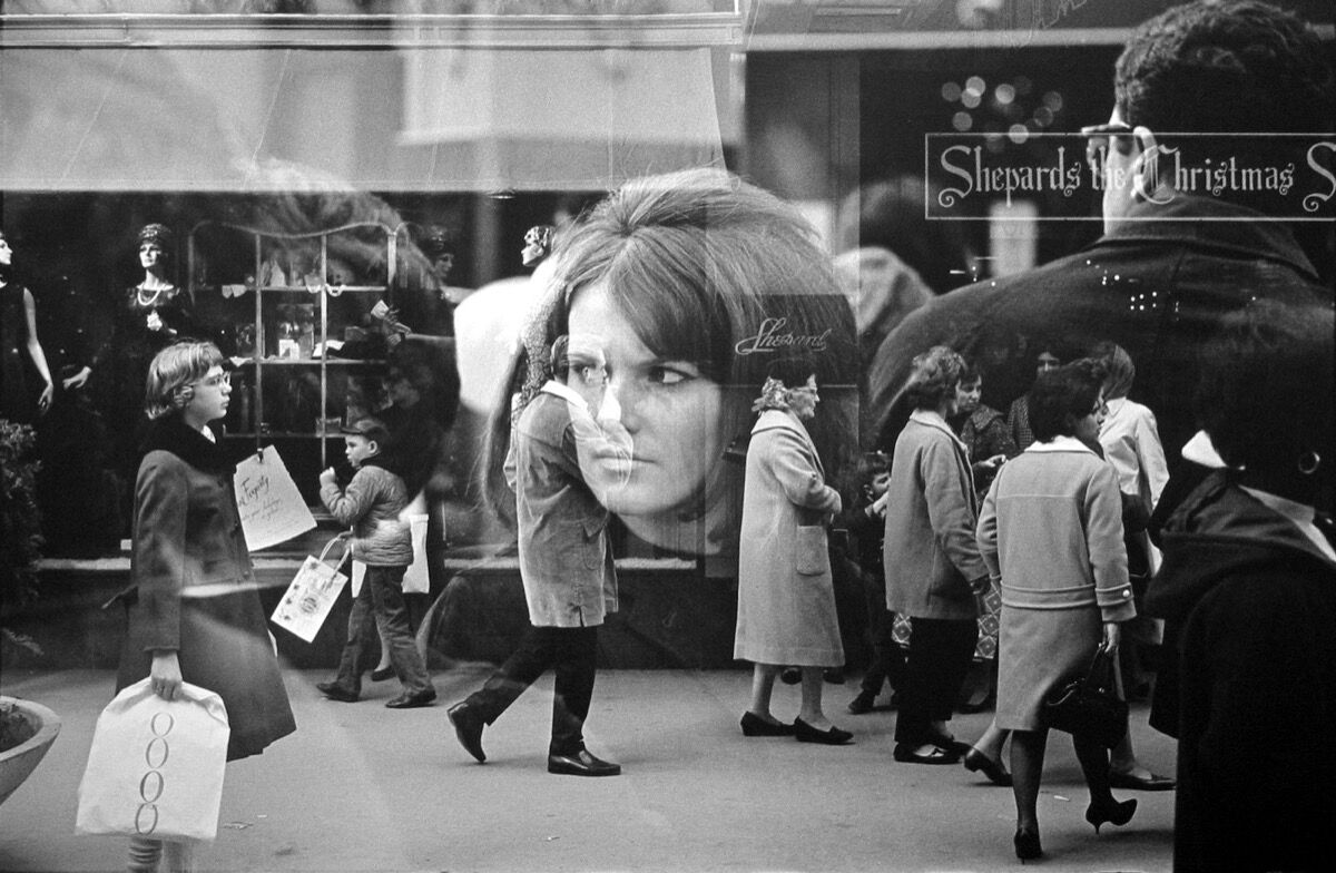 Harry Callahan, Providence (Shepards), 1966. © Harry Callahan. Courtesy of Jackson Fine Art, Atlanta.