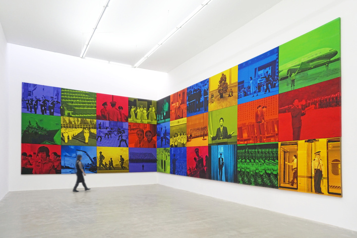 Installation view of Lin Jinging, Public Memory 2, 2013, courtesy of de Sarthe Gallery