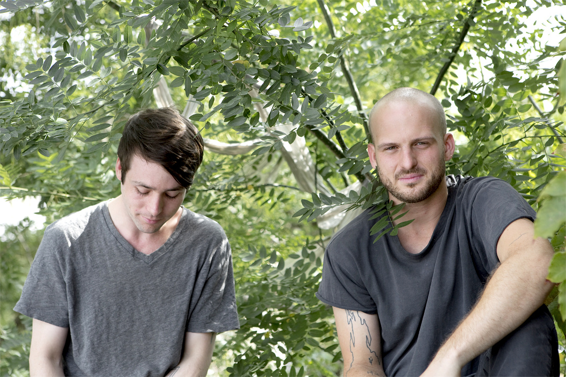 Alexander Johns andKyle Jacques. Courtesy Signal Gallery, Photography byMax J. Marshall.