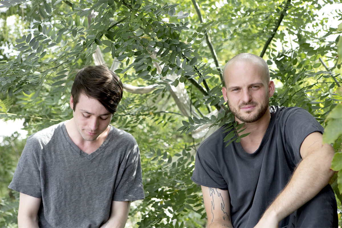 Alexander Johns and Kyle Jacques. Courtesy Signal Gallery, Photography by Max J. Marshall.