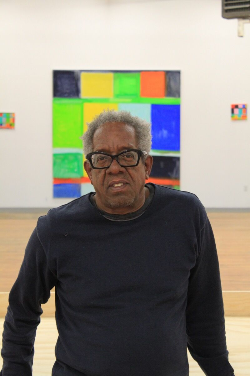 Portrait of Stanley Whitney. Courtesy of Lisson Gallery.