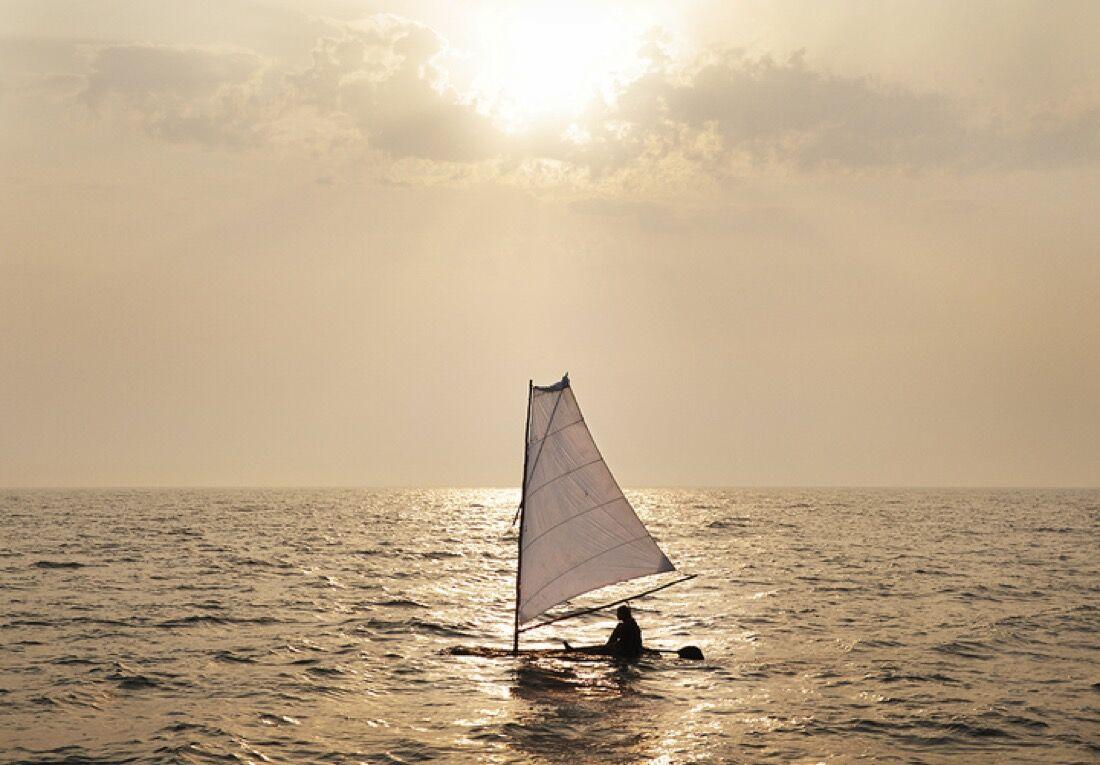 "Antti Laitinen, ""Bark Boat,"" 2010. Courtesy of the artist."