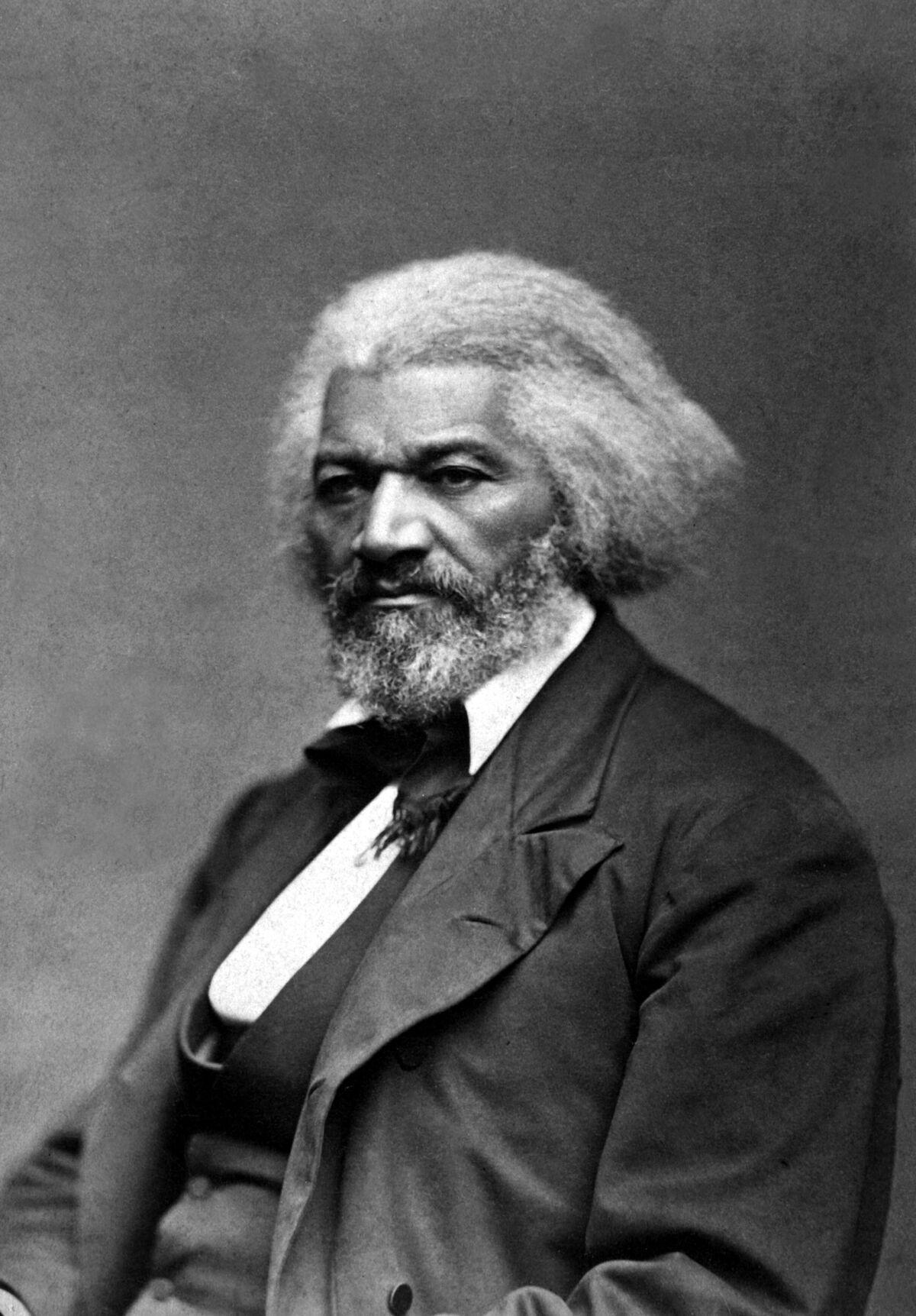 Frederick Douglass, circa 1879. Image via Wikimedia Commons.