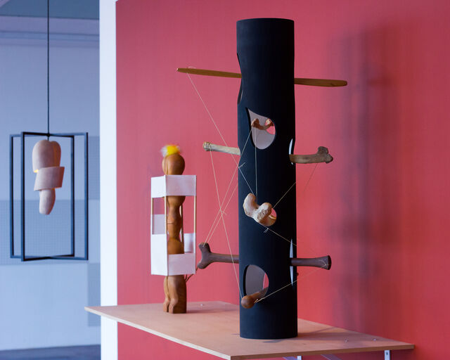 "Installation view of ""Highlights from the Collection: Iconic Display,"" courtesy of the Noguchi Museum"