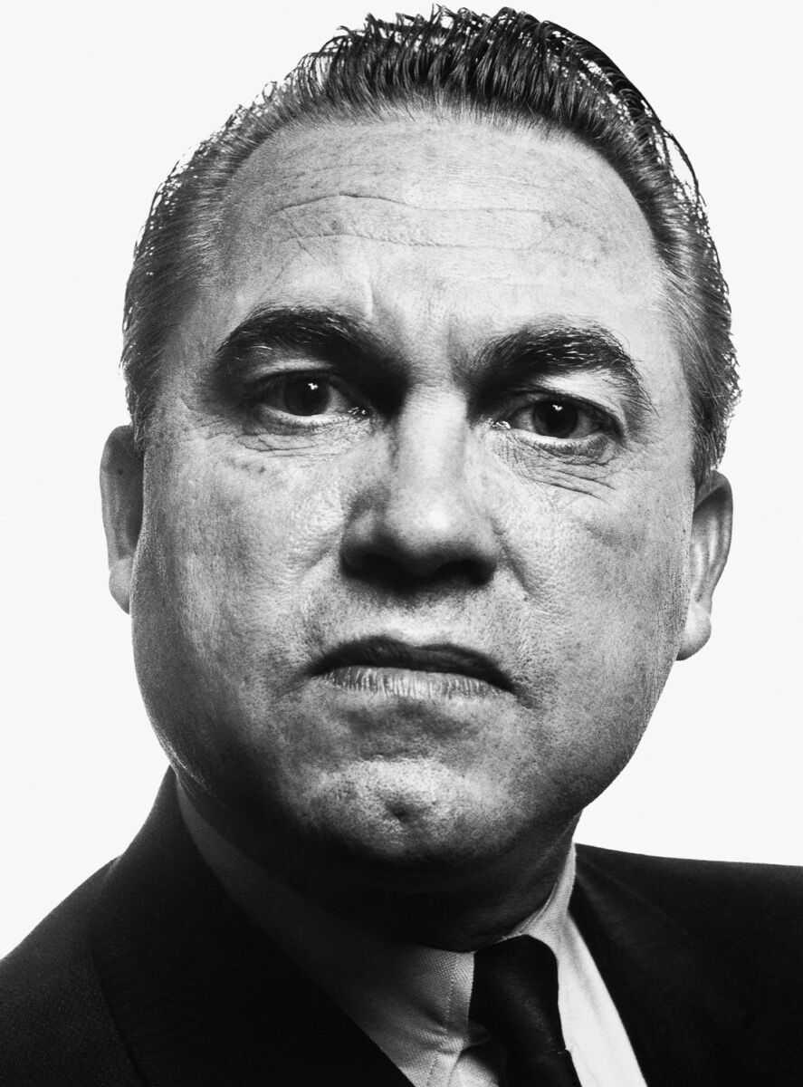 Richard Avedon, George Wallace, Governor of Alabama, November 1963. © The Richard Avedon Foundation. Courtesy of Pace/MacGill Gallery.
