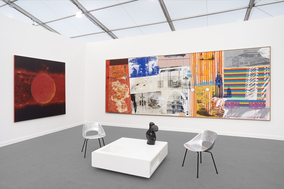 Installation view of VENUS's booth at Frieze New York, 2017. Courtesy of VENUS.
