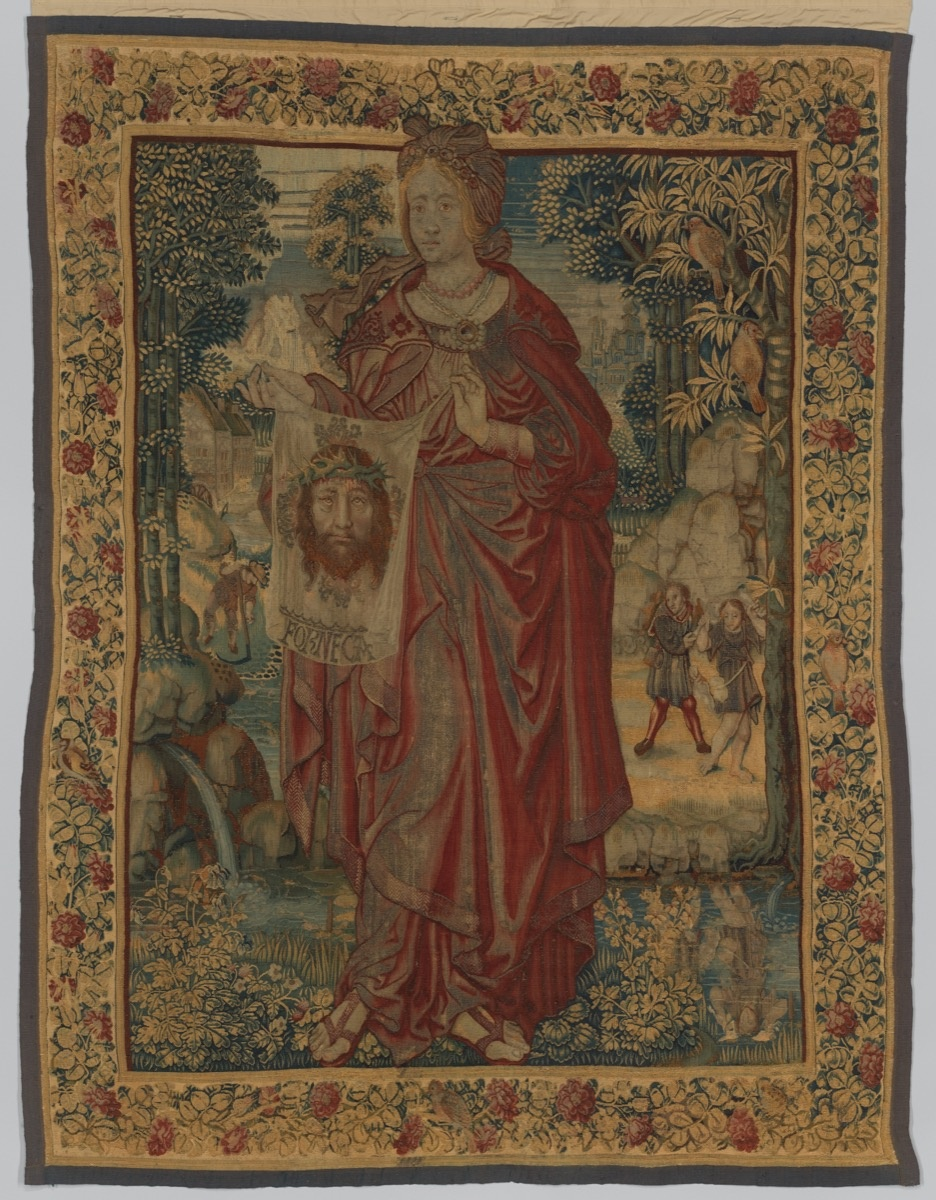 Saint Veronica, Flemish, Brussels, ca. 1520. Bequest of George Blumenthal, 1941. Courtesy of the Metropolitan Museum of Art.