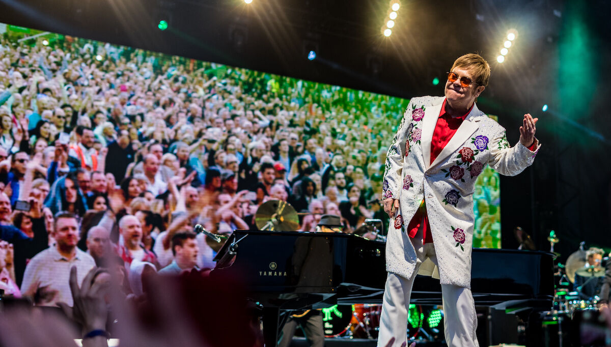 Elton John in concern in June 2017. Photo by Raph_PH, via Wikimedia Commons.