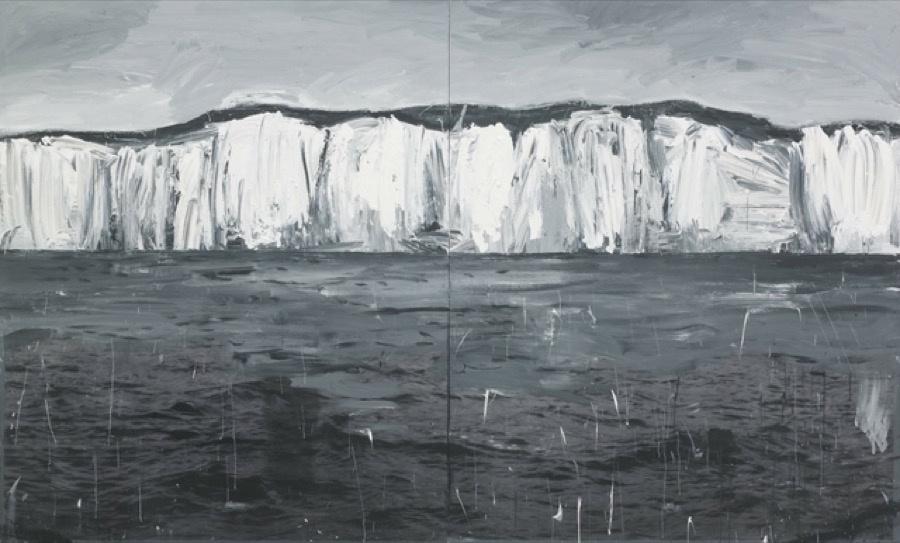 Marcus Harvey, Albus (2009). Image courtesy of Vigo Gallery.