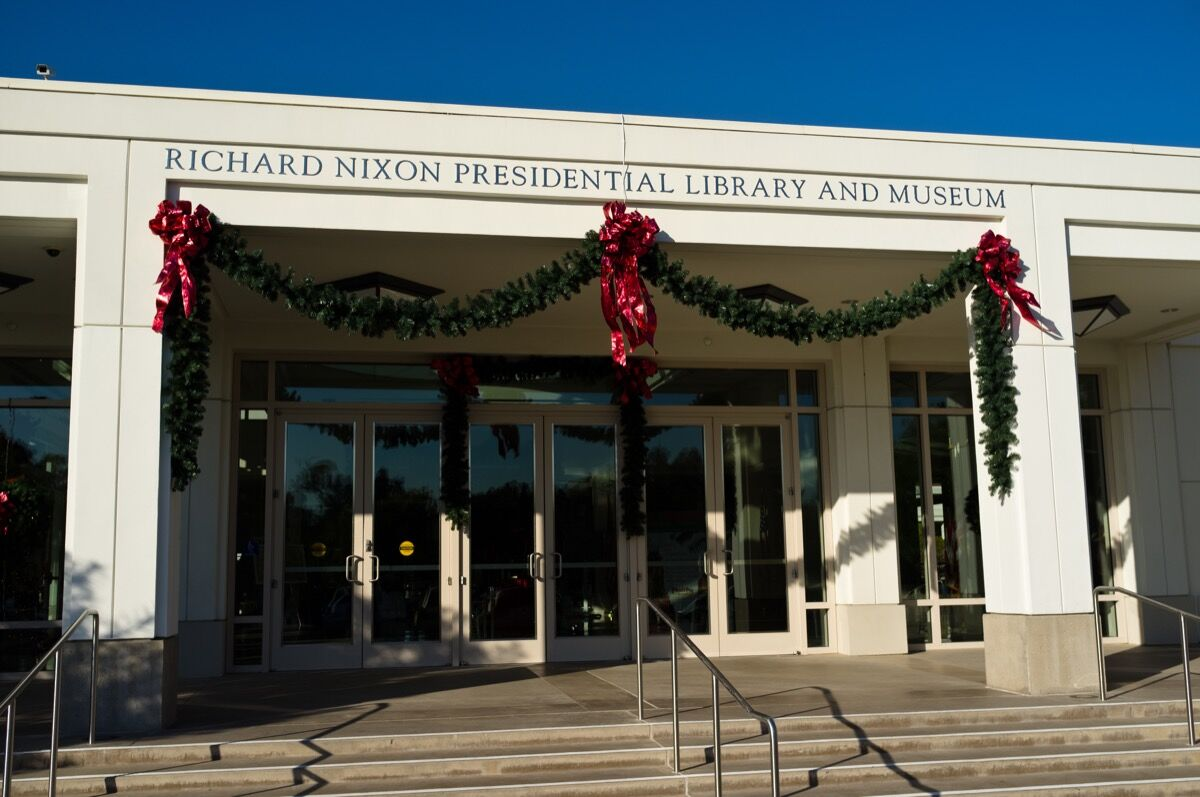 Richard Nixon, Richard Nixon Presidential Library, Yorba Linda, California. Photo by Mark Weston, via Flickr.