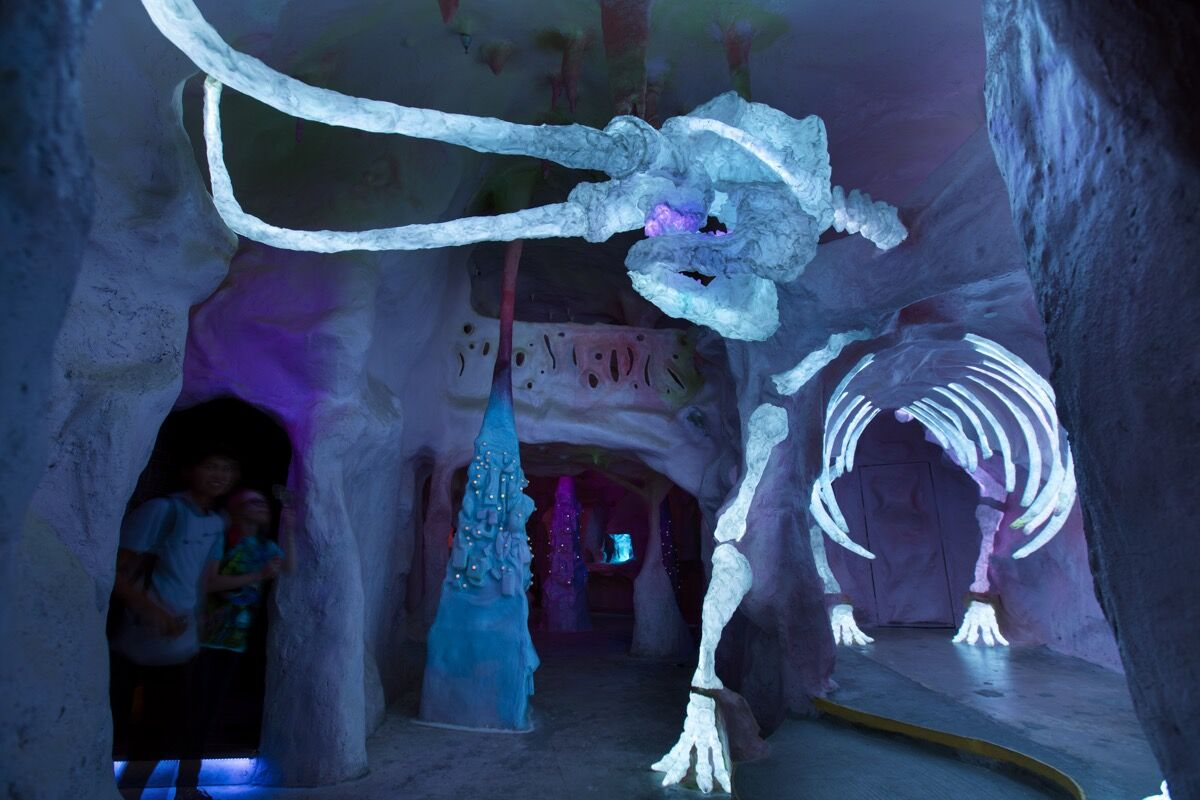 Installation view of Meow Wolf, House of Eternal Return, Santa Fe.  Courtesy of www.meowwolf.com.