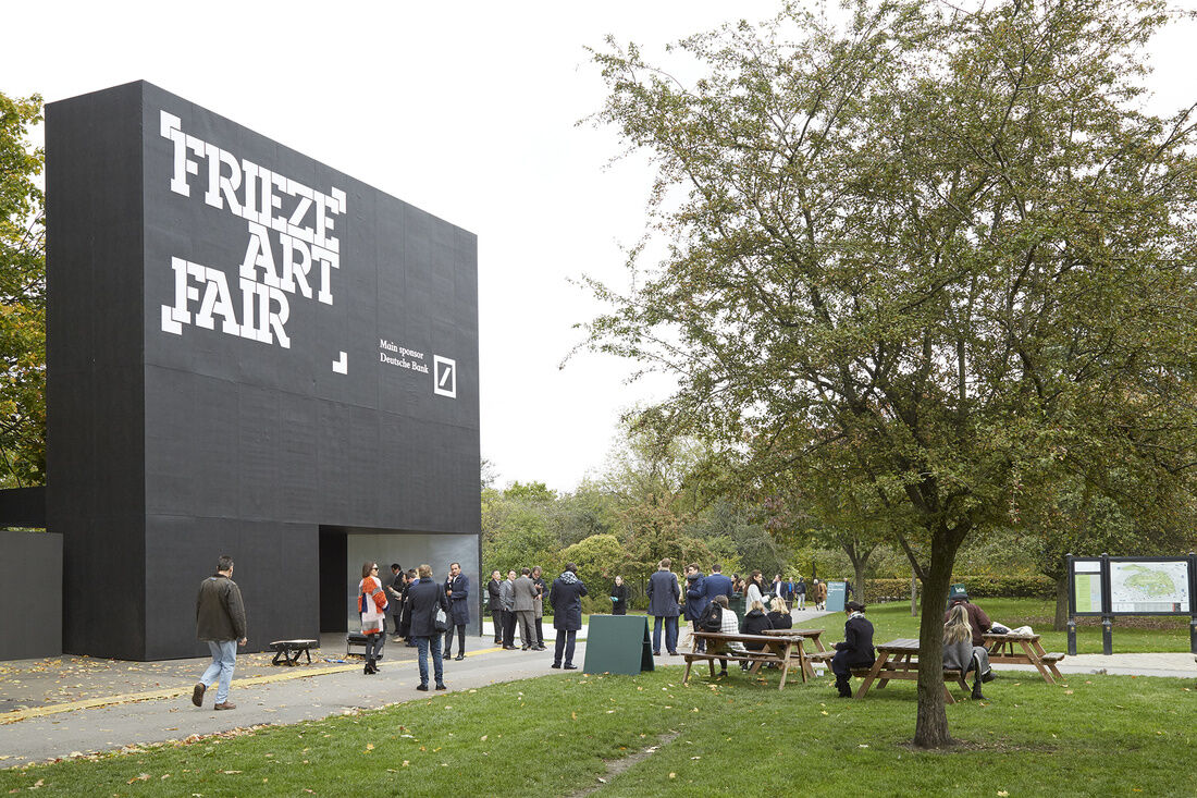 Frieze London, 2015. Photo by Benjamin Westoby for Artsy.