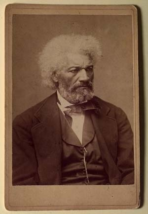 Frederick Douglass. St. John Fisher College, Lavery Library Collection. Image via Wikimedia Commons.