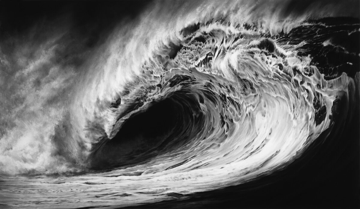 Robert Longo, Untitled (Hellion), 2011. Courtesy of the artist and Metro Pictures, New York.