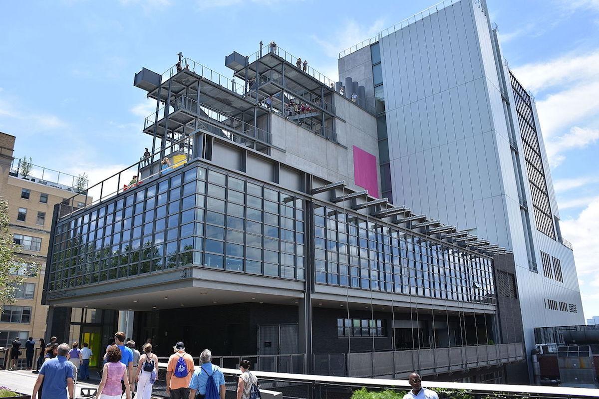 The Whitney Museum of American Art. Photo by MusikAnimal, via Wikimedia Commons.